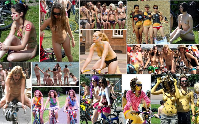 World Naked Bike Ride UK 2009 #2
