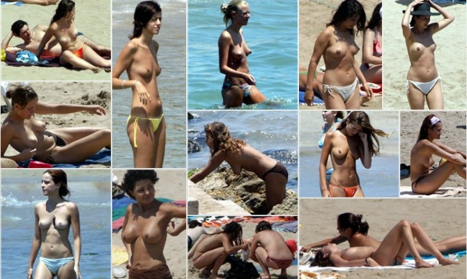 Sitges Topless Beach #1