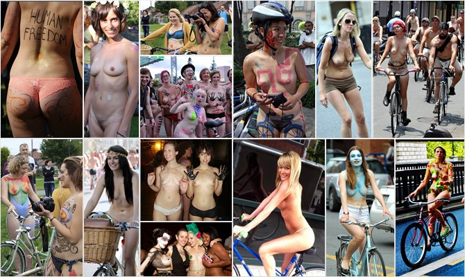 World Naked Bike Ride 2011 #3